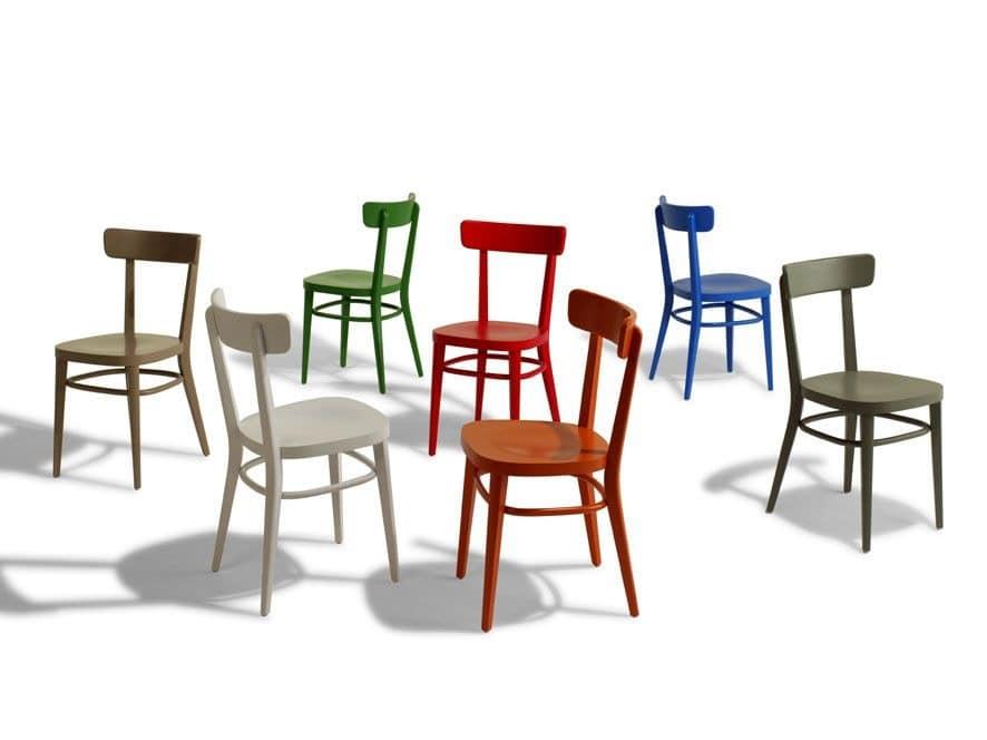 Linear stuhl ganz aus holz f r bars und tavernen idfdesign for Design stuhl milano echtleder
