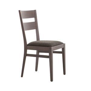 MP472A, Stuhl aus Buchenholz