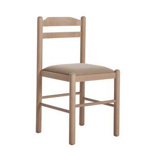 RP403, Holzstuhl mit schlichtem Design