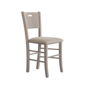 RP481C, Stuhl aus Buchenholz mit anpassbarem Sitz