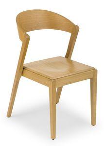 Zanna wood, Stuhl komplett in Holz gemacht