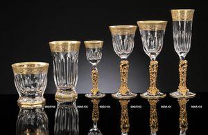 COSTE glassware, Luxuriöser Kristall und reines Goldglas