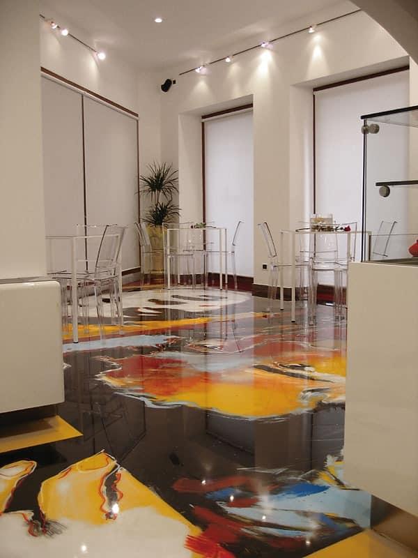 Artistic resin floors 2, Harzboden, für Geschäfte und Bars