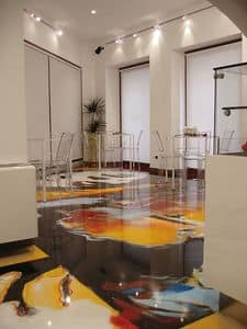 Bild von Artistic resin floors 2, spatula b�den