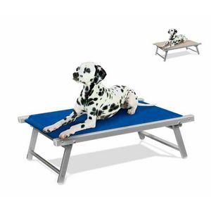 Hundebett Kinderbett Aluminium Liegestuhl Tier Hundebett DOGGY - LC104TEX, Aluminium Hundebett