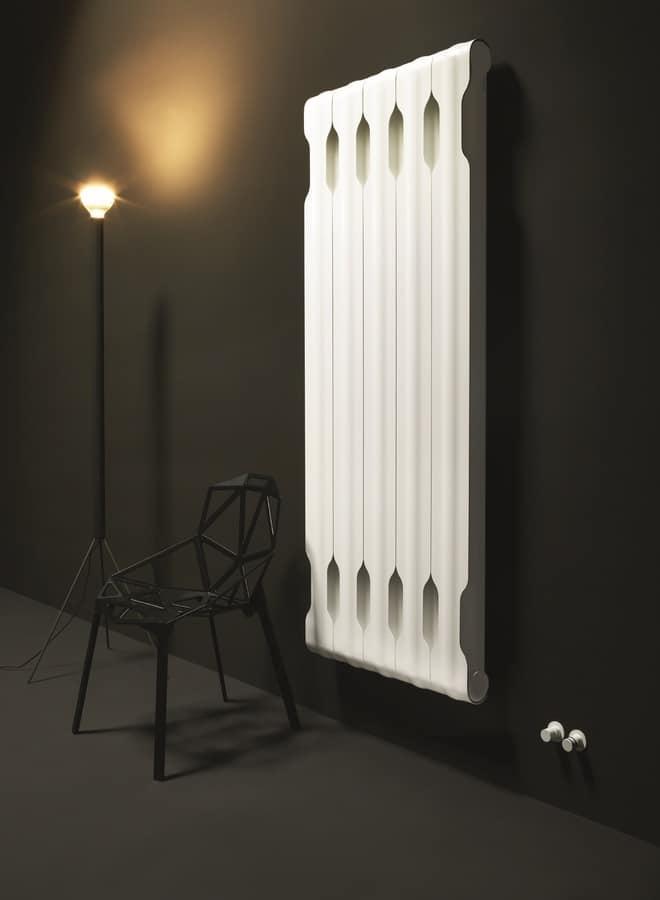 Modular Kühler, aus Aluminium, mit Schlangenlinie   IDFdesign