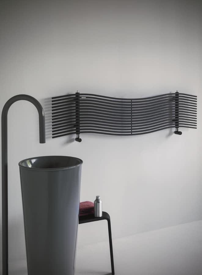 Horizontalen Heizkörper für Badezimmer | IDFdesign