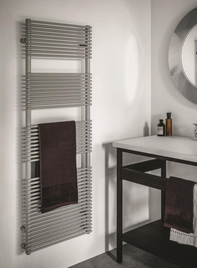 heizk rper f r badezimmer in verschiedenen farben erh ltlich idfdesign. Black Bedroom Furniture Sets. Home Design Ideas
