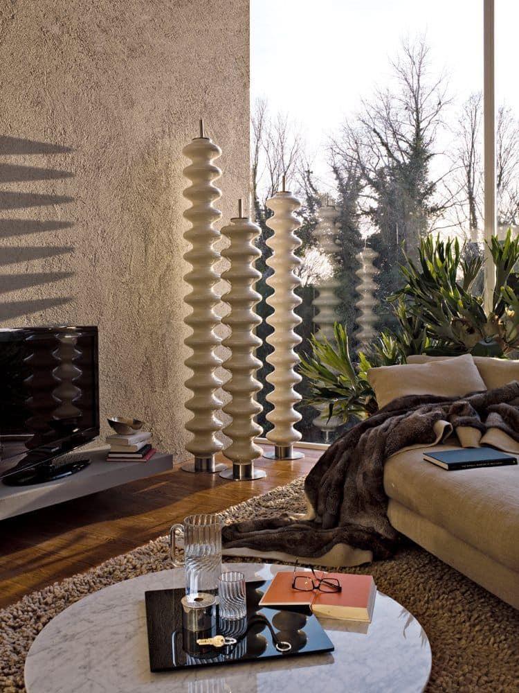 Milano - elettric, Elektroheizung, mit einem originellen Design, freistehend