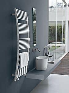 Parentesis, Handtuchwärmer mit gewölbten Form, für das Bad
