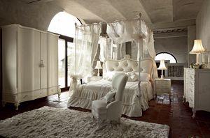 Doge Bett, Himmelbett, mit traditionellem Design