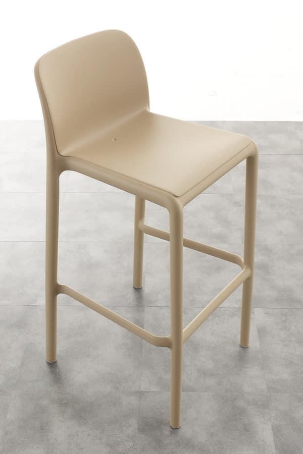 sitze hocker f r drau en kunststoff idfdesign. Black Bedroom Furniture Sets. Home Design Ideas