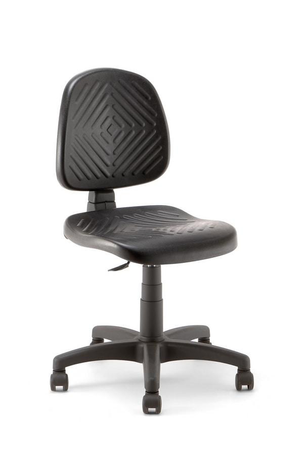 Working 01, Sitz höhenverstellbar
