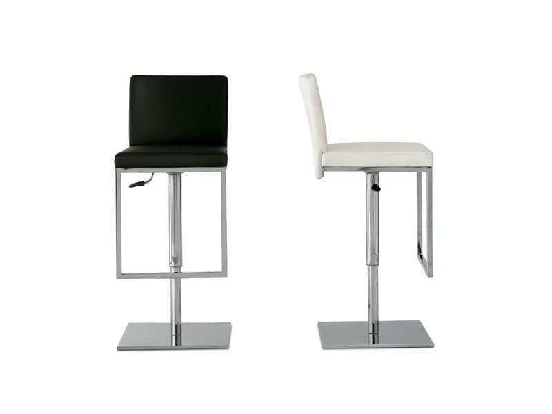 Sitze hocker modern design idf for Barhocker mit ledersitz