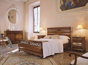 Fenice Bett, Bett im traditionellen Stil