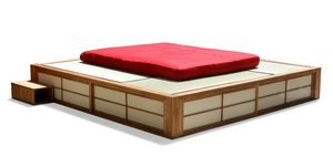 Podio, Platzsparendes japanisches Bett
