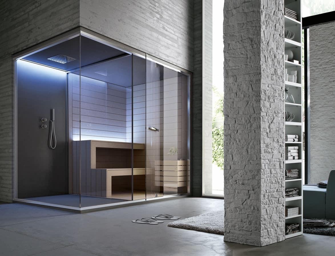 hammam dusche raum sauna f r luxushotel idfdesign. Black Bedroom Furniture Sets. Home Design Ideas