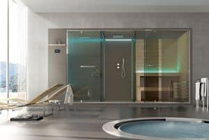 Ethos, Hammam, Dusche Raum, Sauna, für Luxushotel