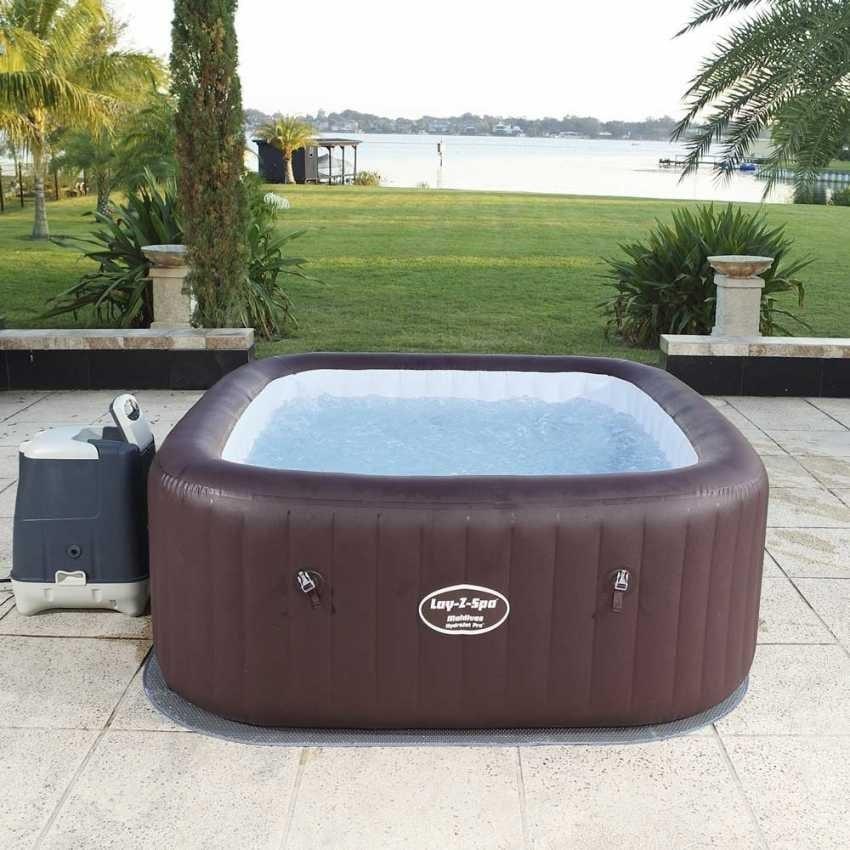 Aufblasbares Mini Pool Mit Whirlpool Idfdesign