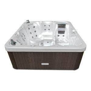 Mini swimmingpool vom garten mit whirlpool f r den - Whirlpool einlage ...