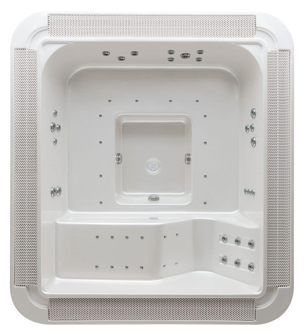 mini rand schwimmbad f r im freien mit whirlpool idfdesign. Black Bedroom Furniture Sets. Home Design Ideas