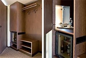 Motel King, Komplette Ausstattung für die Hotelzimmer, moderner Stil