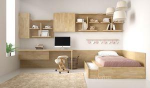 Comodo-SL, Einzelbett mit einem zweiten Ausziehbett