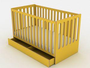 Sleep, Kinderbett in ein Montessori-Bett umwandelbar
