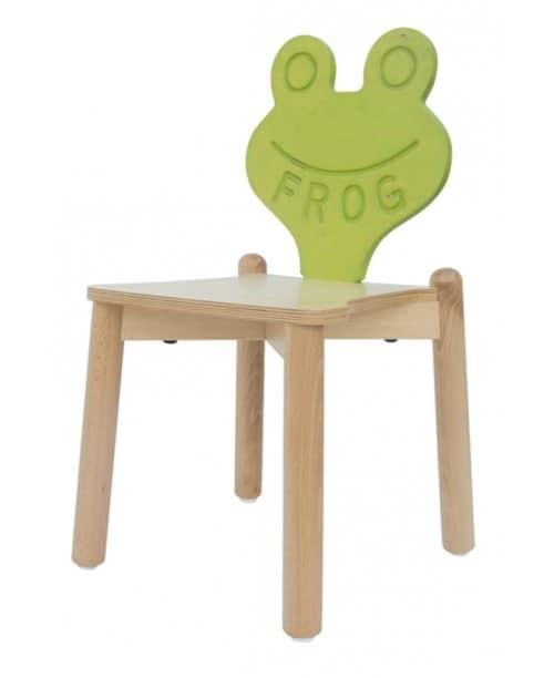 Stapelbarer Stuhl In Buche Ideal Für Kinderzimmer