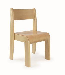 PENNY, Stapelbarer Stuhl für Kinder, leicht zu waschen