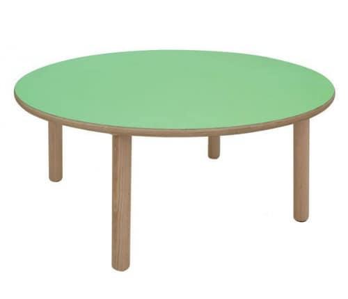 IT_C, Runden Holztisch, ideal für Spielplätze