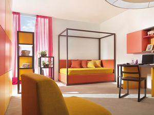 Boxer 9002, Schlafzimmer mit zweitem Ausziehbett