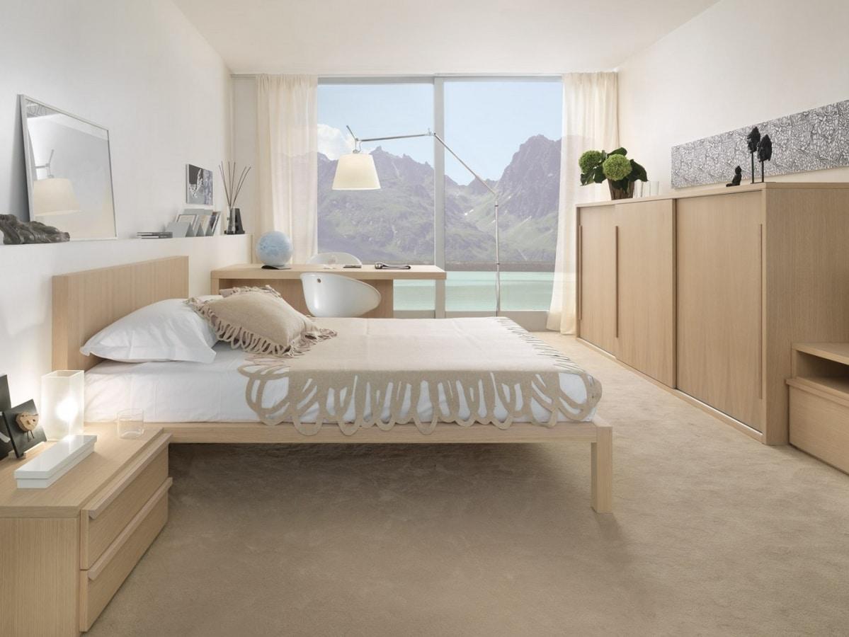 Komplette Möbel für das Schlafzimmer mit Schiebeschrank   IDFdesign