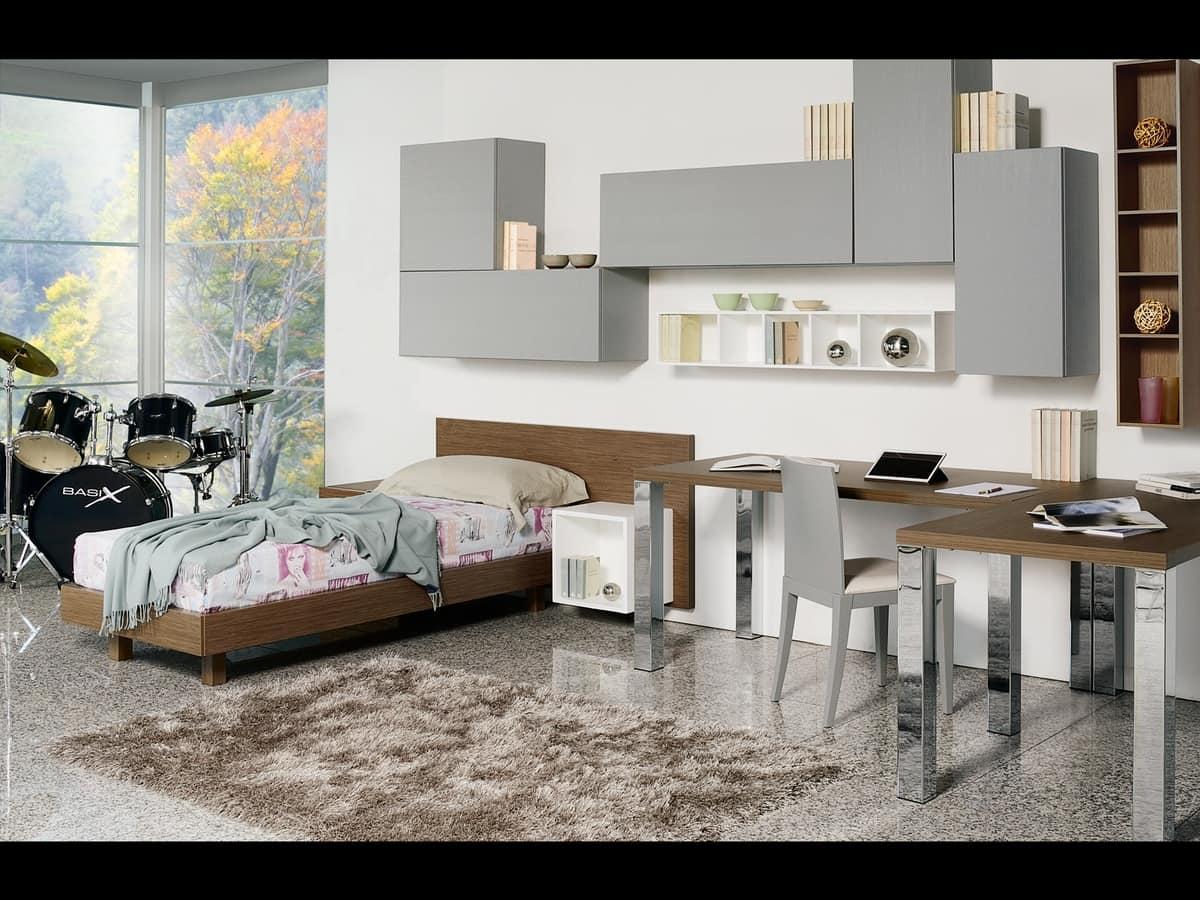 Modulare Schlafzimmer für Kinder, funktional und modern | IDFdesign
