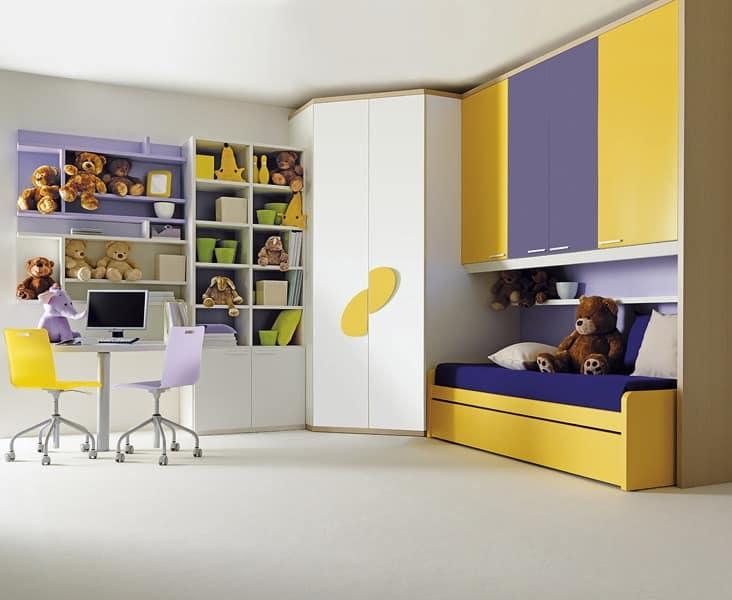 Kinder Und Jugendzimmer Möbel In Schichtholz Idfdesign
