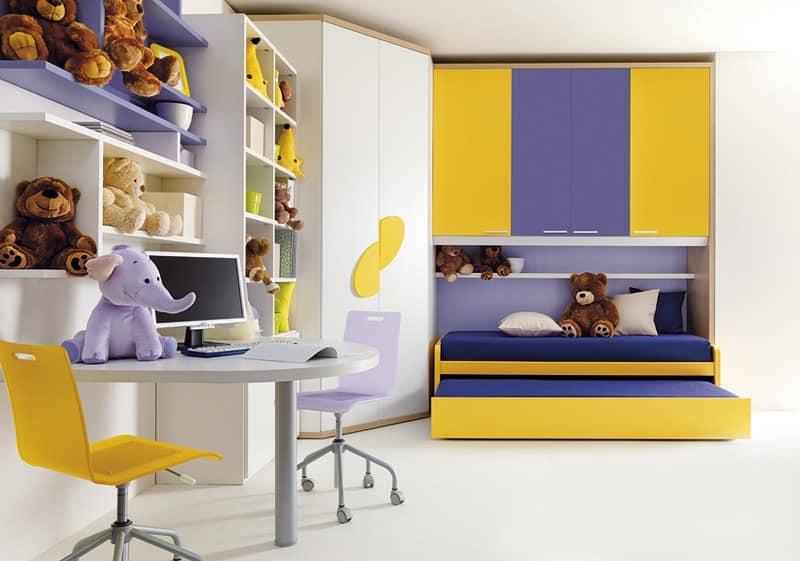 moebel fuer jugendzimmer, kinder- und jugendzimmer möbel, in schichtholz | idfdesign, Design ideen