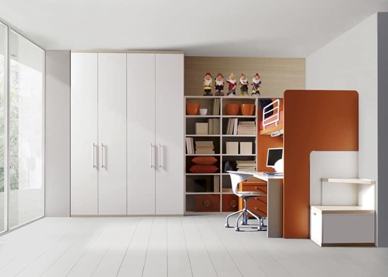 kinderzimmer holzlaminat seitenleiter idfdesign. Black Bedroom Furniture Sets. Home Design Ideas