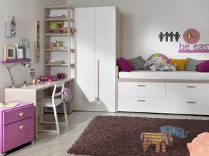 Compact 2012, Kid Schlafzimmer mit begehbarem Kleiderschrank