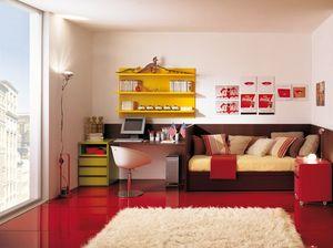 Compact 4006, Kid Schlafzimmermöbel für ein kleines Zimmer