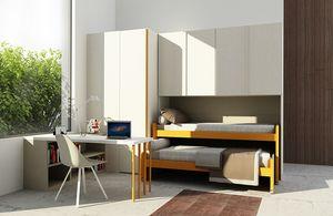Cool comp.12, Kinderzimmer mit platzsparenden Betten