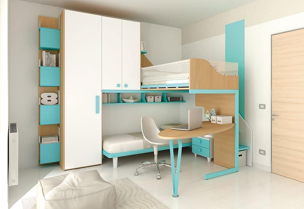 Etagenbett Ecke : Olo niedrig etagenbett buche cm weiß ⭐ kinder