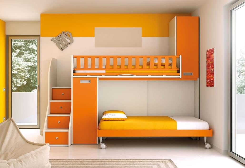 Leiter Schutz Etagenbett : Hochbett mit leiter schubladen platzsparend idfdesign