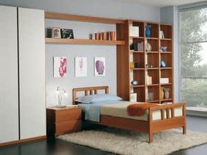 Jungen Zimmer 02, Modulare Schlafzimmer im modernen Stil