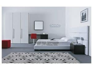 kopfteil aus holz mit regal f r hotelzimmer idfdesign. Black Bedroom Furniture Sets. Home Design Ideas