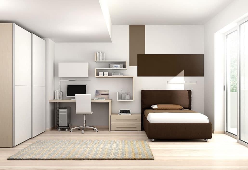 Kinder-Schlafzimmer mit LEB ökologischen Platten gemacht | IDFdesign