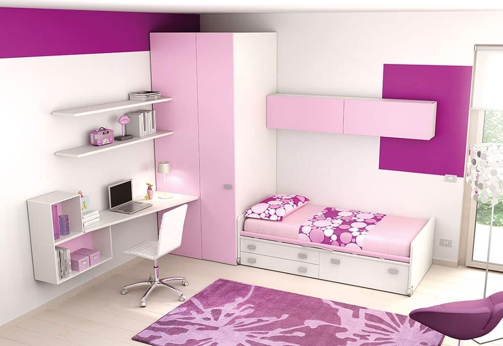 Kinderschlafzimmer KC 121, Modernes Schlafzimmer Für Mädchen, In  Recyclebaren Materialien