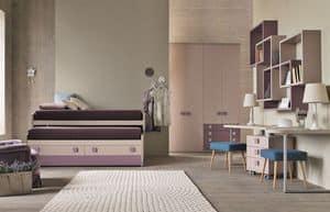 m blierung schlafzimmer f r jungen mit schreibtisch idfdesign. Black Bedroom Furniture Sets. Home Design Ideas