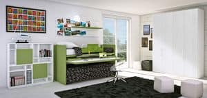 Bild von Set 18D, geeignet f�r kinder-schlafzimmer