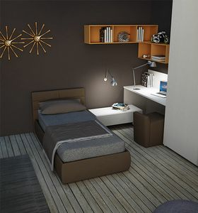 Warm comp.02, Kinderzimmer mit gepolstertem Bett