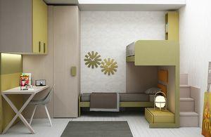 Warm comp.17, Schlafzimmermöbel für Kinder